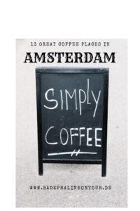 Amsterdam - einmal 12,1 km Rundweg bitte!
