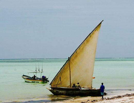 Sansibar, hat so viel Hotels wie Sand am Meer...