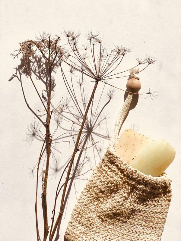 Seifensäckchen aus pflanzlichem Sisal