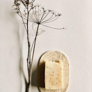 Rein natürliche Seifenunterlage aus Luffa