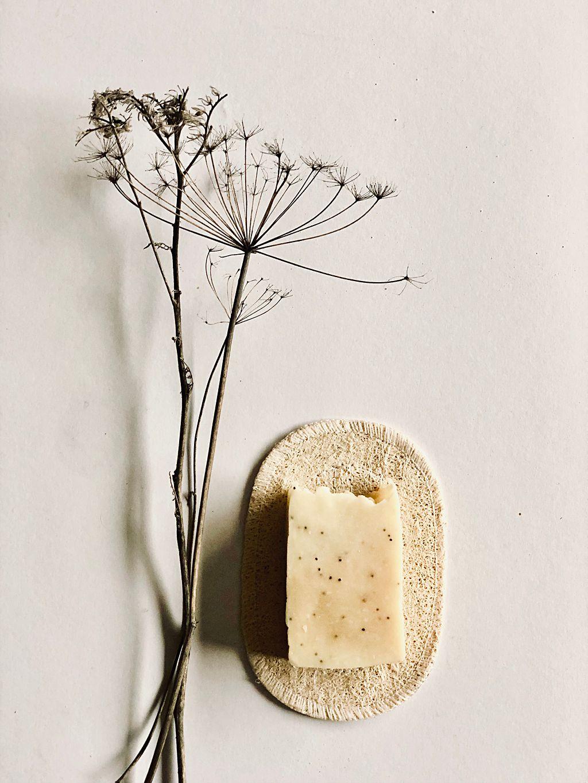 Natürliche Seifenunterlage aus Luffa