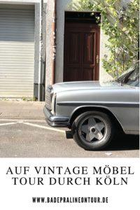 Vintage Möbel tour durch Köln