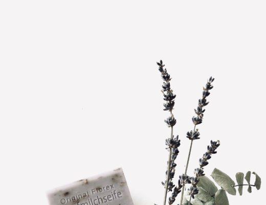 Pflegende Lavendelseife mit Schafmilch