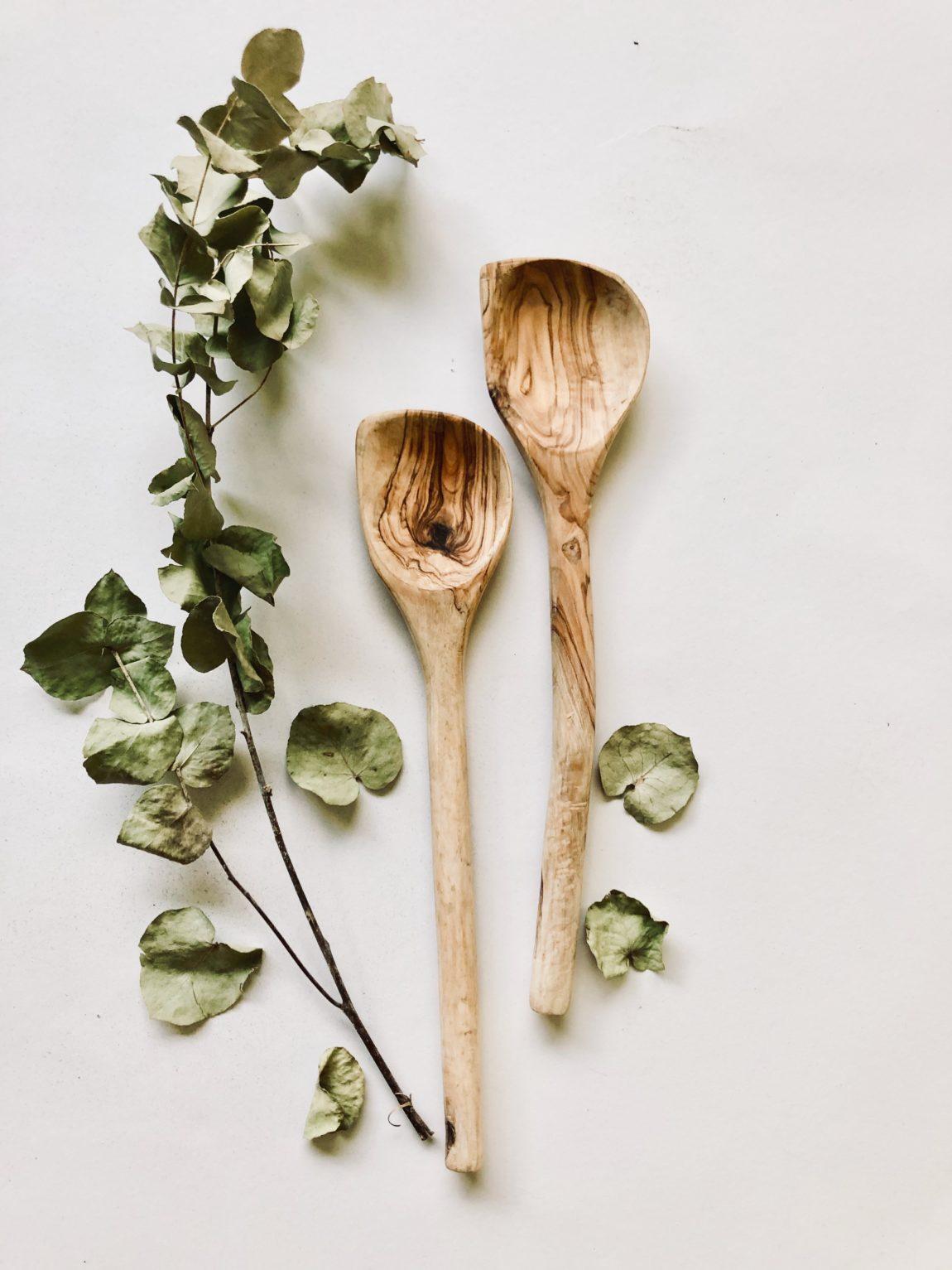 Nachhaltigkeit mit wunderschönem Olivenholz
