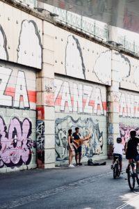 Die besondere Graffiti Meile in Wien