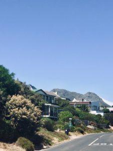 Chapman's Peak entlang im Oldtimer, Kapstadt, Badepraline on Tour