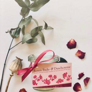 Feine Rosen Dusch- und Badecreme