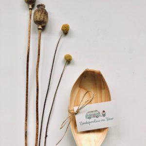 Vielseitige Schiffchen aus Holz