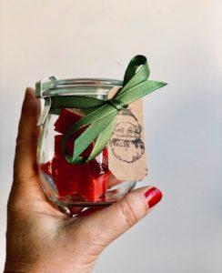Fruchtige Granatapfelseife im Weckglas